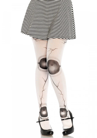 Cracked Doll Pantyhose