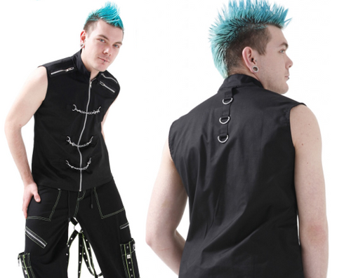 Metal Punk Cotton Vest