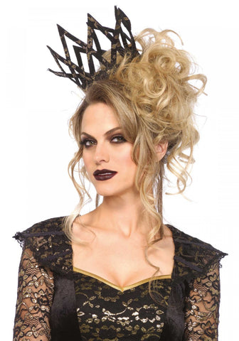 Metallic Lace Crown