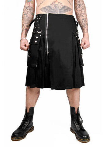 Basic Black Tripp Kilt