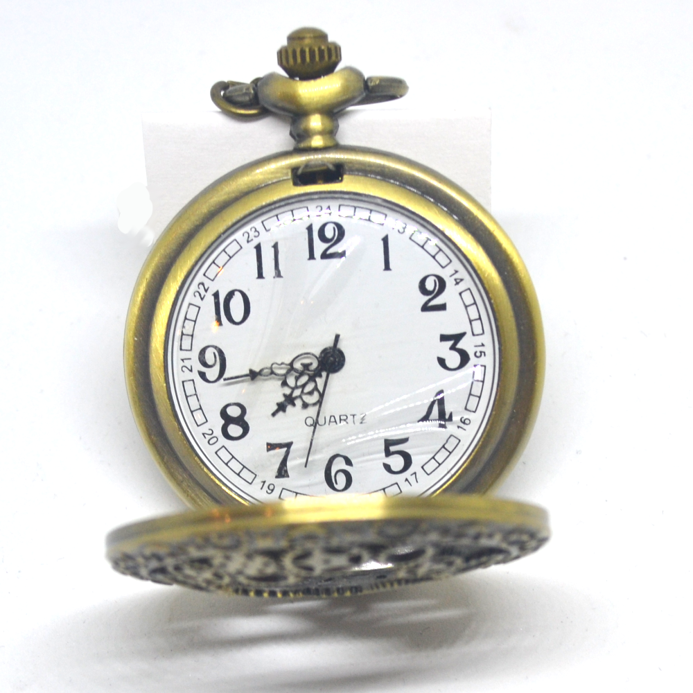 Brass Gears Pocket Watch