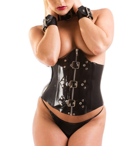 Bondage Latex Corset Belt