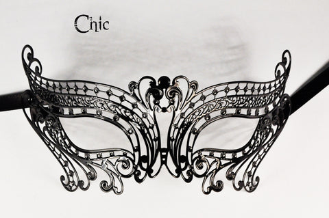 Chic Filigree Metal Mask