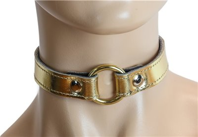 Leather O-Ring Collar