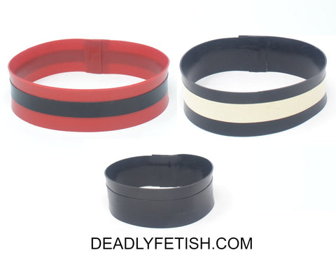 Deadly Fetish Made-To-Order Latex: Arm Bands