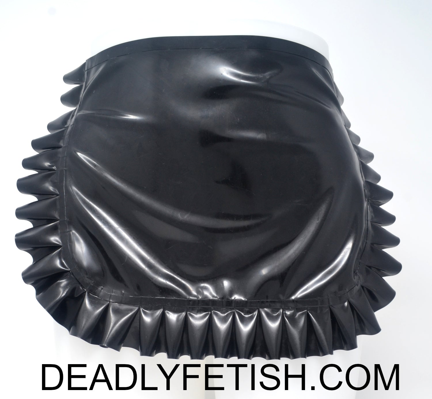 Deadly Fetish Instock Latex: Maid Apron
