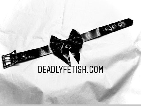 Deadly Fetish Made-To-Order Latex: Collar #12
