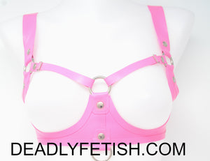 Deadly Fetish Instock Latex: Harness #36