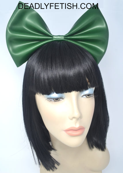 Deadly Fetish Instock Latex: Hair Bow