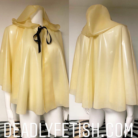 Deadly Fetish Instock Latex: Cape #6