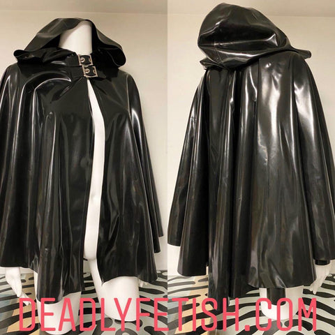 Deadly Fetish Instock Latex: Cape #7