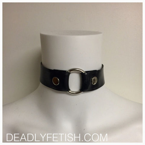 Deadly Fetish Made-To-Order Latex: Collar #01