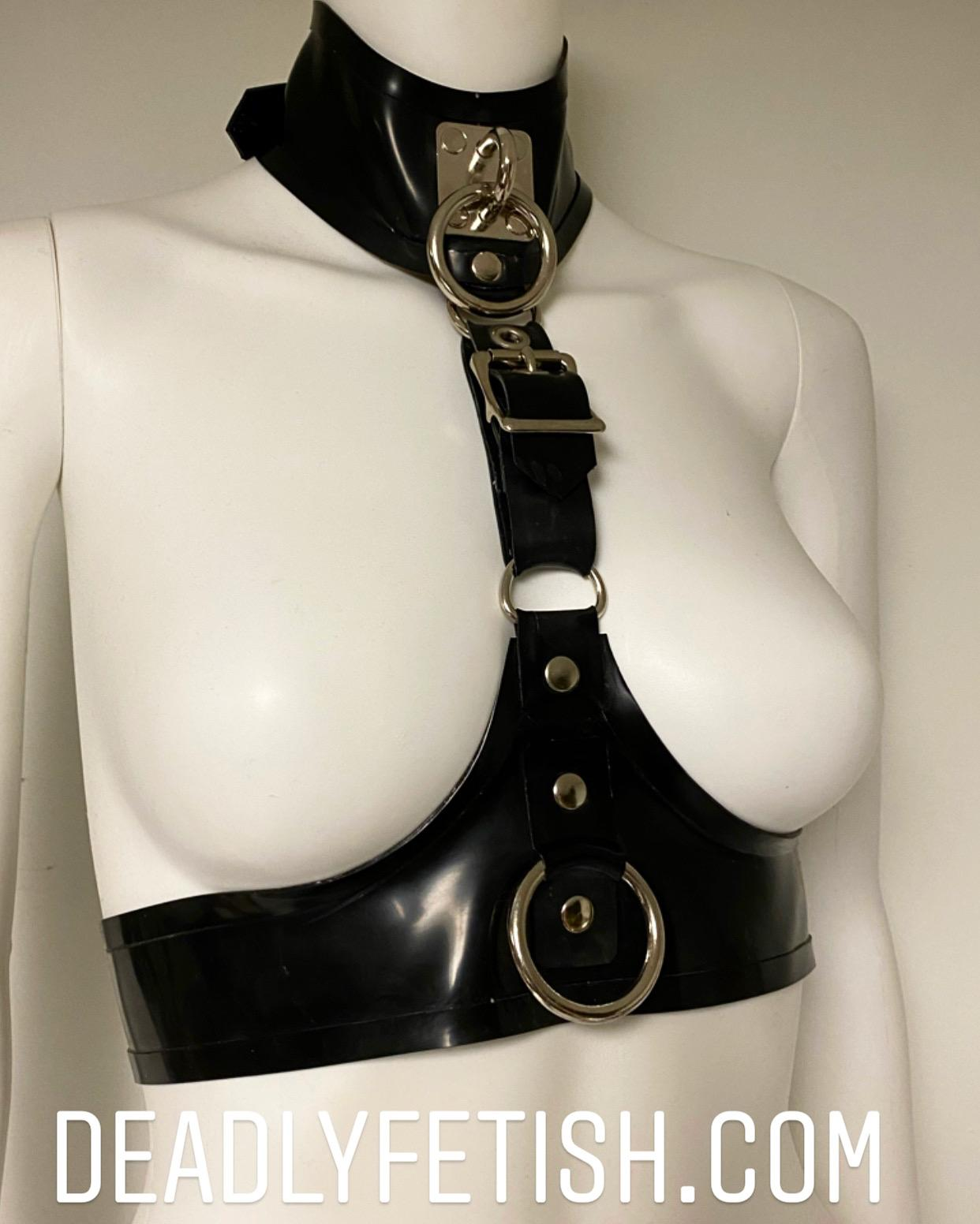 Deadly Fetish Instock Latex: Harness #48