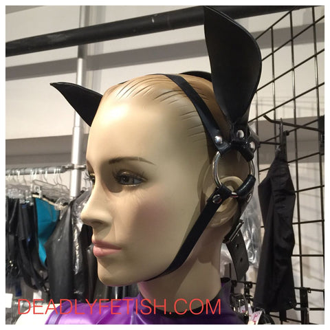 Deadly Fetish Made-To-Order Latex: Head Harness #01