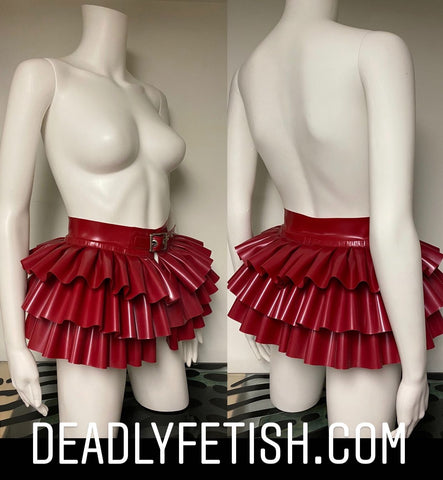 Deadly Fetish Made-To-Measure Latex: Skirt #15