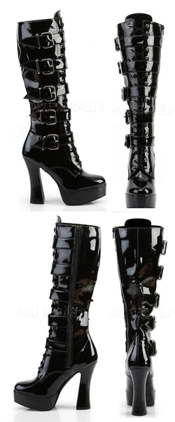 Electra Knee High Buckle Boot