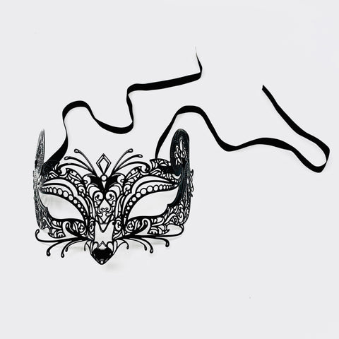 Gatto Filigree Metal Mask