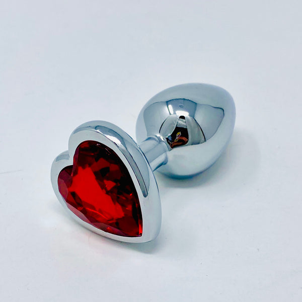 Small Heart Gem Butt Plug