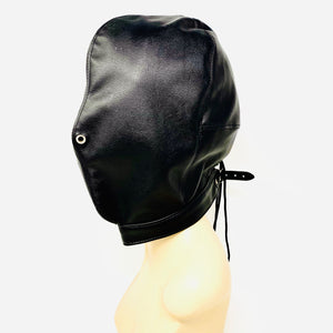 Vegan Leather Full Enclosure Hood
