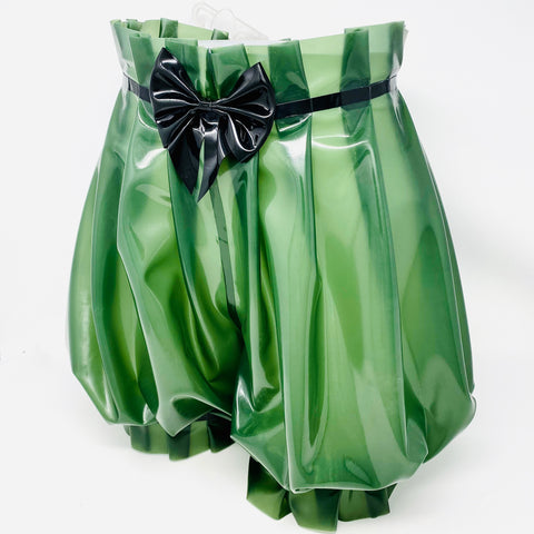 Deadly Fetish Instock Latex: Ruffle Shorts