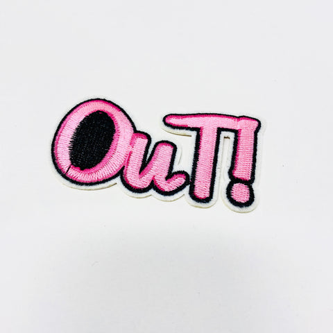 OUT! Patch