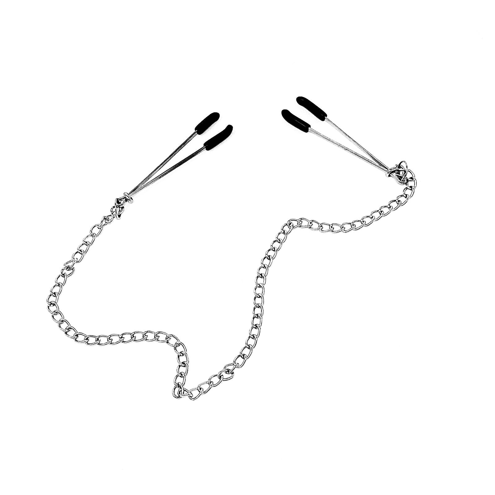 Nipple Clamps w/ Chain Detail