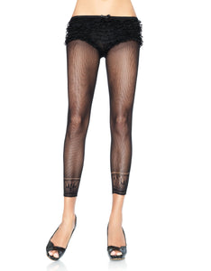 Crocheted Ankle Footless Tights