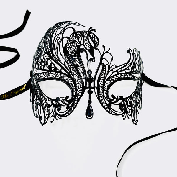 Leda Filigree Metal Mask