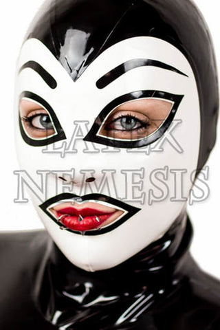 Latex Nemesis Eyebrow Hood