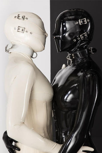 Latex Nemesis Bondage Face Hood