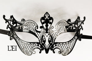 Lei Filigree Metal Mask