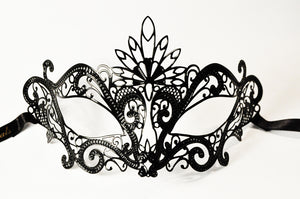 Pavone Filigree Metal Mask