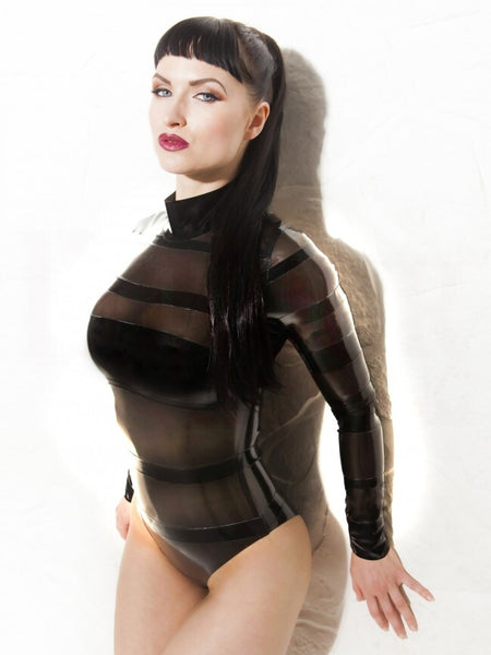 Bandage Latex Bodysuit