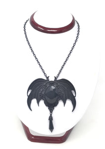 Crystal Bat Necklace