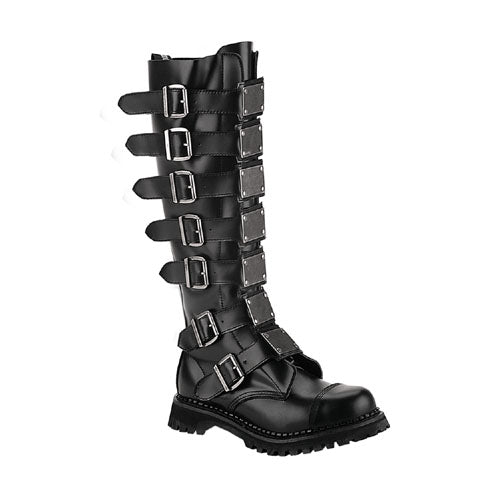 Reaper Leather Combat Boots