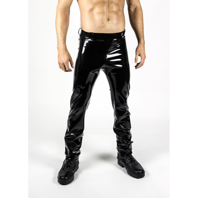 Latex Straight Leg Pant