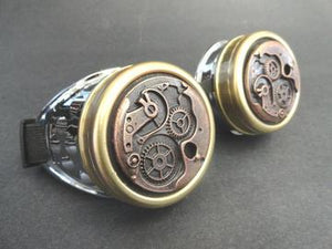Round Watch Movement Goggles