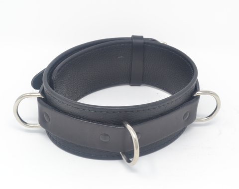 Sinful Soft Leather Collar