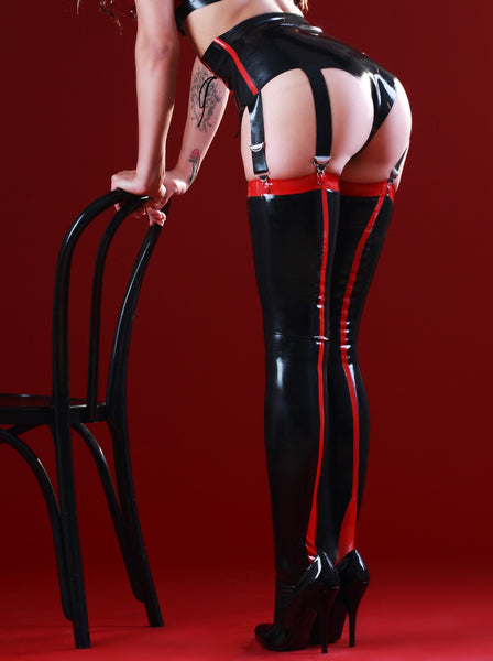 Siren Latex Stockings