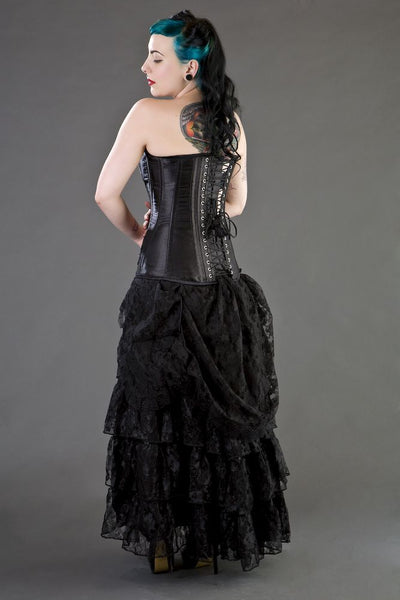 Victorian Skirt with Built in Bustle
