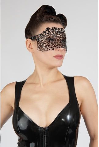 Latex Lace Eye Mask