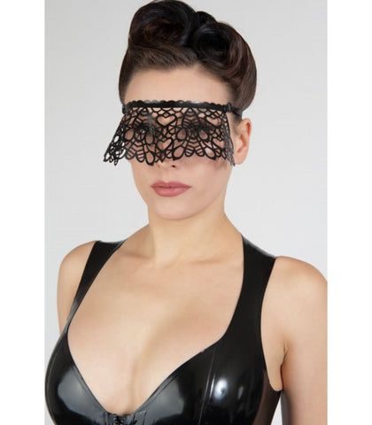 Latex Lace Cut Mask