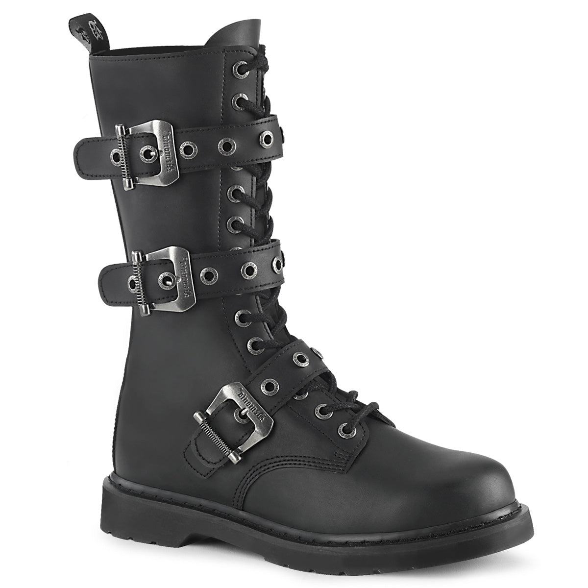 Bolt Short Buckle Combat Boot