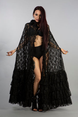Mademoiselle Lace Cape