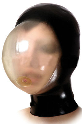 Translucent Latex Rebreather Hood