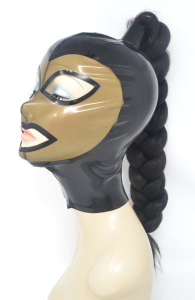 Ponytail Latex Hood