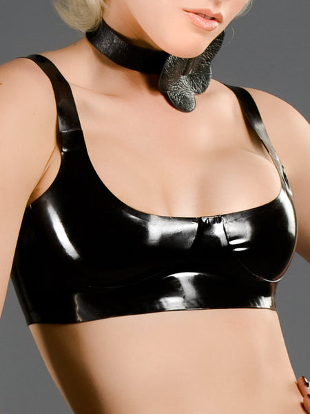 Latex Bra Without Underwire
