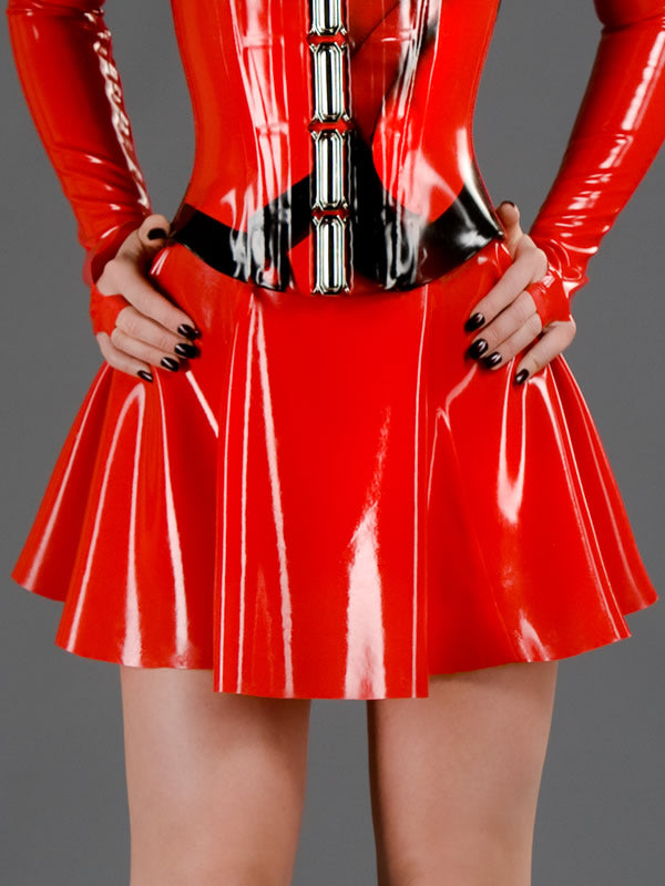 Latex Circle Skirt