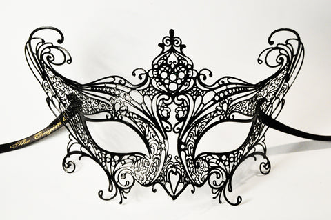 Libellula Filigree Metal Mask