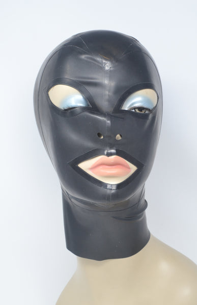 Latex Nemesis Plain Hood w/ Regular Pointed Eye